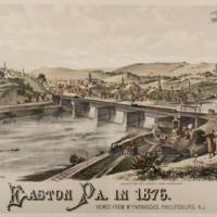 Easton Pa. in 1876