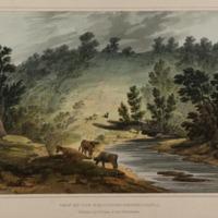 View on the Wisahiccon, Pennsylvania