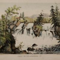 Falls on the Lackawana, Pa.