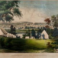 Harrisburg and the Susquehanna, from Bridgeport Heights
