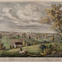 Southwest View of Lancaster, Pa.
