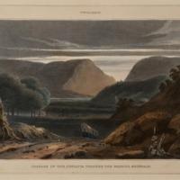 Twilight, Passage of the Juniata through the Warrior Mountain
