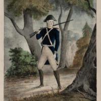 Washington on His Way to Pittsburg